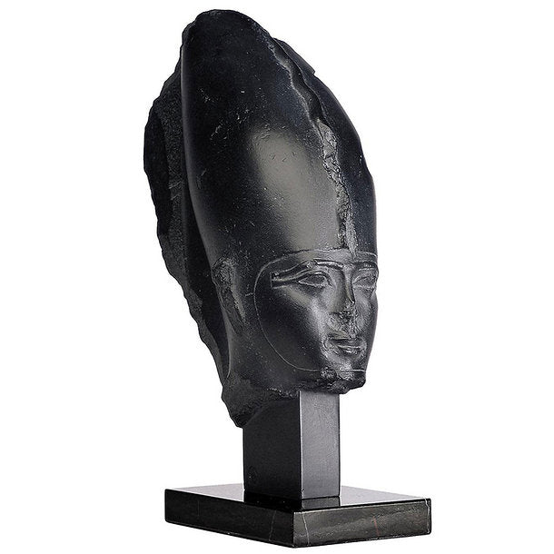 "History Egyptian Osiris Bust head statue Sculpture museum reproduction art 15.75"" www.Neo-Mfg.com home decor relief"