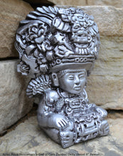 Load image into Gallery viewer, History Aztec Maya Mesoamerica God of Corn Zapotec Deity Vessel Sculpture Statue www.Neo-Mfg.com 8""