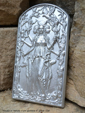 "Load image into Gallery viewer, Hecate or Hekate triple goddess wall Sculpture www.Neo-Mfg.com 6"" alter moon"