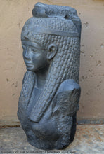 "Load image into Gallery viewer, History Egyptian Cleopatra VII bust Sculpture 25"" www.Neo-Mfg.com home decor statue Museum Reproduction"