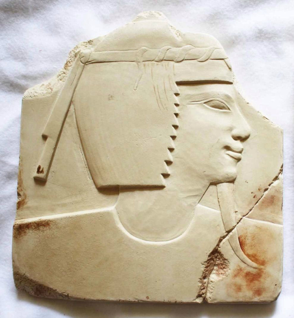 Egyptian King fragment Sculpture reproduction art  www.Neo-Mfg.com Museum Reproduction