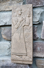 "Load image into Gallery viewer, Assyrian Guard of the Kings Persian Persepolis art Wall Sculpture 12"" www.Neo-Mfg.com"