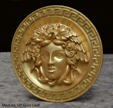 "Load image into Gallery viewer, History Medusa Versace design Artifact Carved Sculpture Statue 12"" www.Neo-Mfg.com"