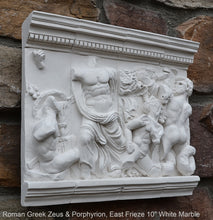 "Load image into Gallery viewer, Roman Greek Zeus & Porphyrion, Gigantomachy Frieze, Pergamon Altar, East Artifact Carved Sculpture Statue 10"" www.Neo-Mfg.com Museum replica"