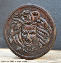 "Load image into Gallery viewer, History Medusa design Artifact Carved Sculpture Statue cameo 4"" www.Neo-Mfg.com"