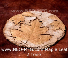 "Load image into Gallery viewer, MAPLE LEAF wall Art Sculpture Frieze Plaque Home decor 11"" neo-mfg"