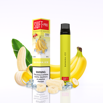 Swft Pro Disposable - Banana Ice 5%
