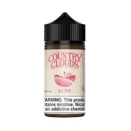 Country Clouds - Strawberry Cornbeard Puddin' (S.C.B.P) 100mL