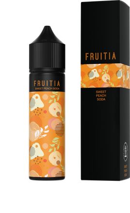 Fruitia - Sweet Peach Soda