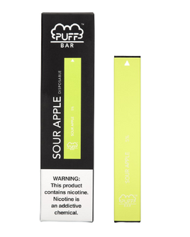 Puff Bar 5% Disp. - Sour Apple