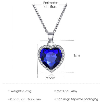 Love Forever Pendant Necklace