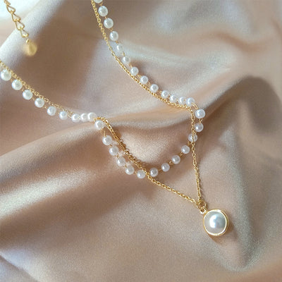 New Fashion Kpop Pearl Choker Necklace