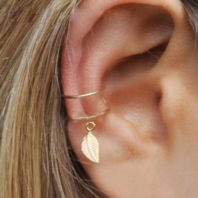 Ear Cuff Clip Earrings
