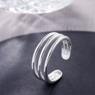 Three-line Ring