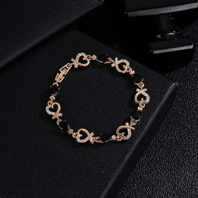 Renevatio Online Heart Chain Bracelet