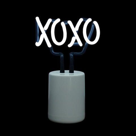 XOXO Glass Neon