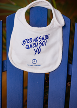 Load image into Gallery viewer, Blue Apple Organic Fair-Trade Cotton Baby Bib