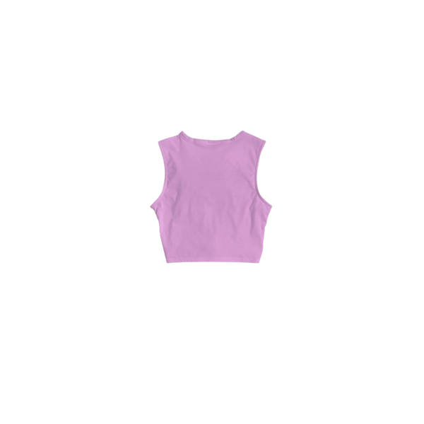 weRConfident Pink Twisted Tank