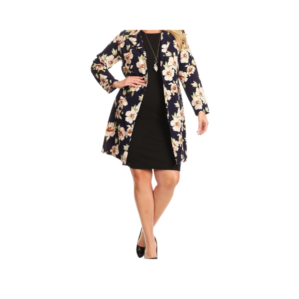 Modern Day Floral Trench