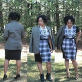 Plaid Bodycon
