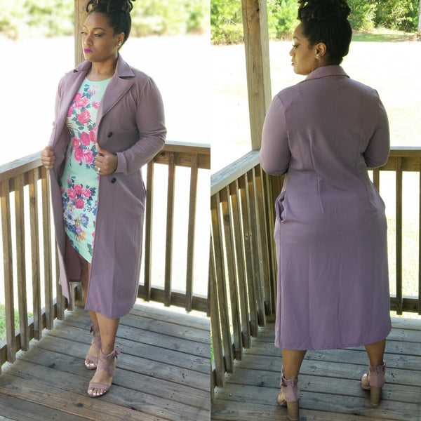 Modern Day Mauve Trench