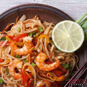 Asian Shrimp Noodles