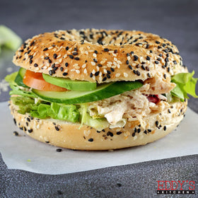 Chicken Mayo Bagel Sandwich