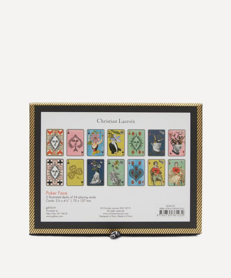 Christian Lacroix | Poker Face Playing Cards