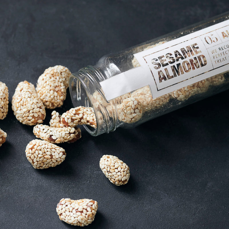 Nicolas Vahé | Caramelised Almonds with Sesame