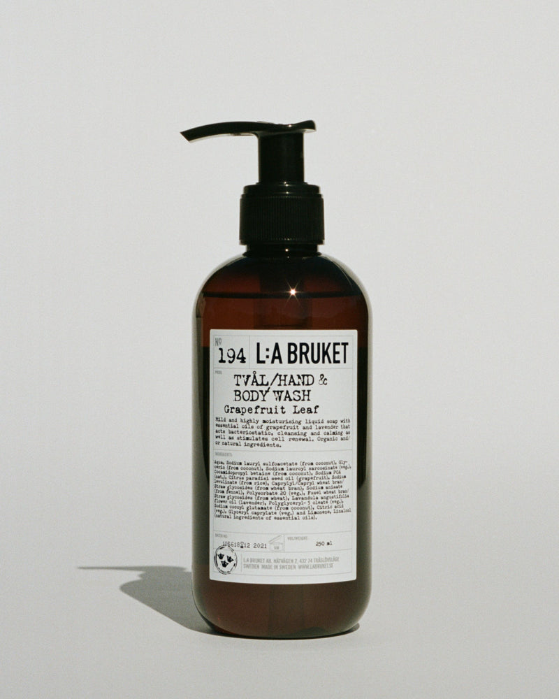 L:A BRUKET | Hand & Body Wash Grapefruit Leaf
