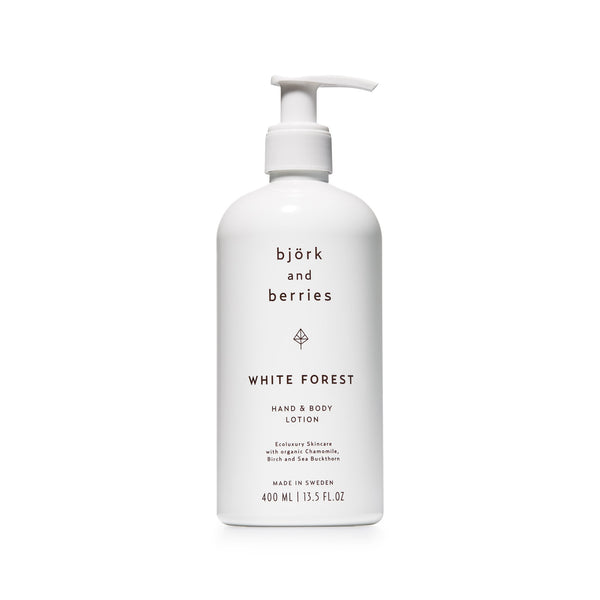 Björk & Berries | Hand & Body Lotion White Forest