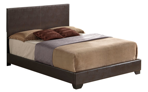 Ireland III Brown PU Queen Bed image