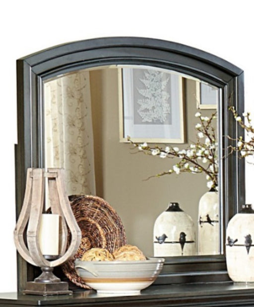 Homelegance Begonia Mirror in Gray 1718GY-6 image