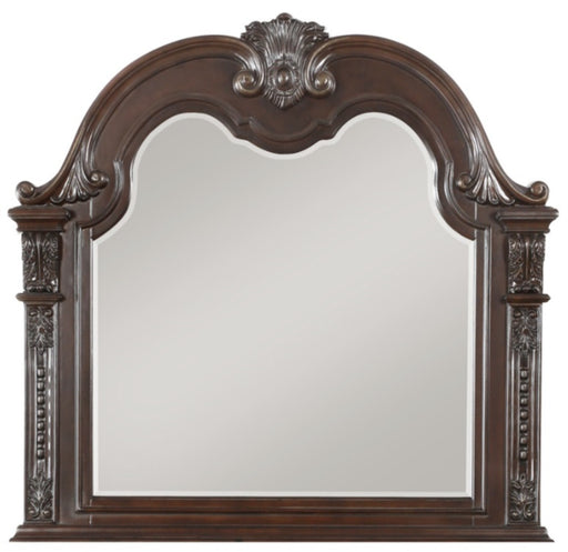 Homelegance Cavalier Mirror in Dark Cherry 1757-6 image