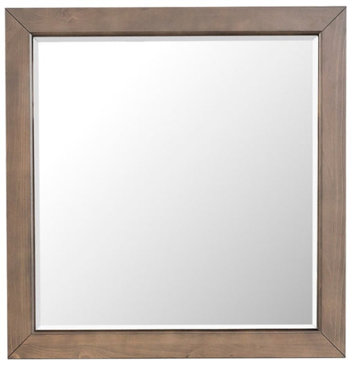 Homelegance Bracco Mirror in Rustic Brown 1769-6 image