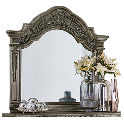 Homelegance Catalonia Mirror in Platinum Gold 1824PG-6 image