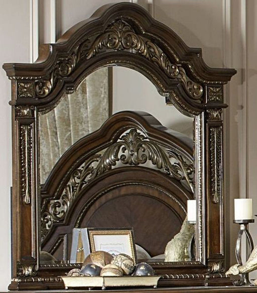Homelegance Catalonia Mirror in Cherry 1824-6 image