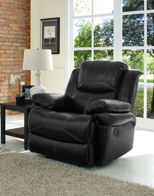 New Classic Flynn Glider Recliner in Premier Black image