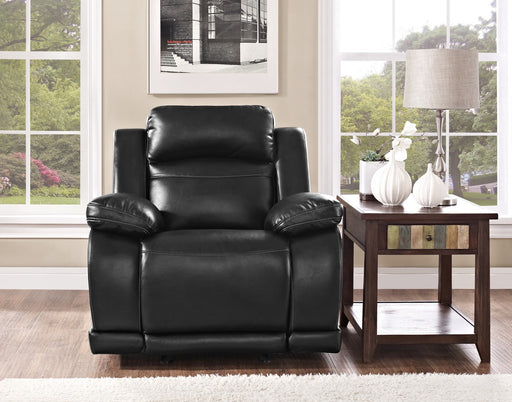 New Classic Vega Power Glider Recliner in Premiere Black UC3822-13P1-PBK image