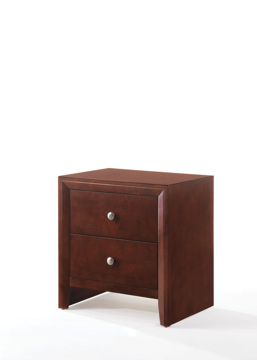 Ilana Brown Cherry Nightstand image