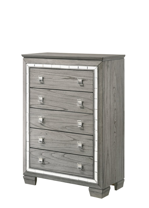 Antares Light Gray Oak Chest image