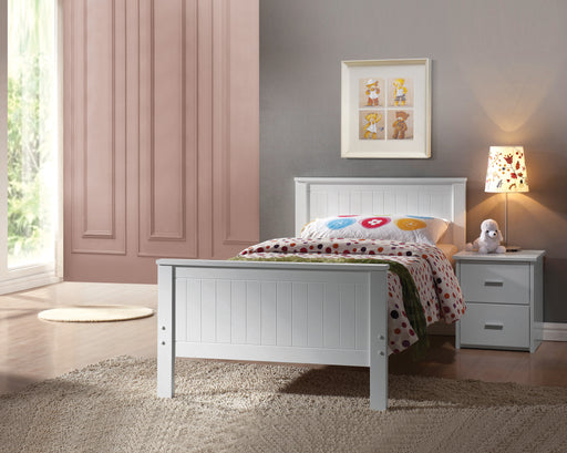 Bungalow White Twin Bed image