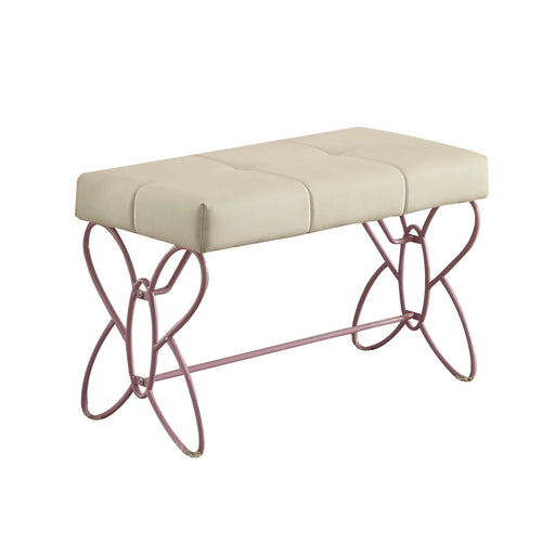 Priya II White & Light Purple Bench image