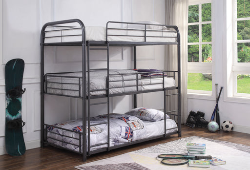 Cairo Gunmetal Bunk Bed (Triple Twin) image