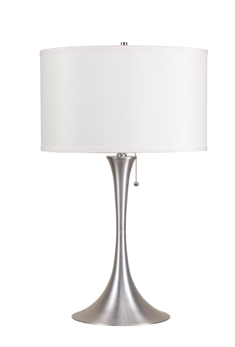 Cody Brushed Silver Table Lamp image