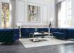 Atronia Blue Fabric Sofa image