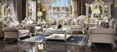 Picardy Fabric & Antique Pearl Oversized Sofa image