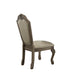 Chateau De Ville PU & Antique White Side Chair image
