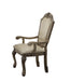 Chateau De Ville PU & Antique White Arm Chair image