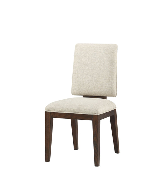Niamey Fabric & Walnut Side Chair image